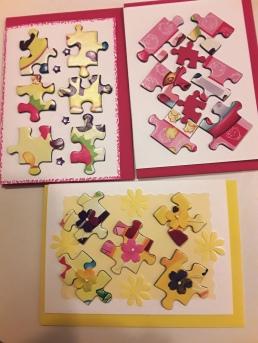 Jigsaw cards
